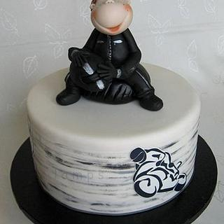 Cake for young bikers - Cake by lamps