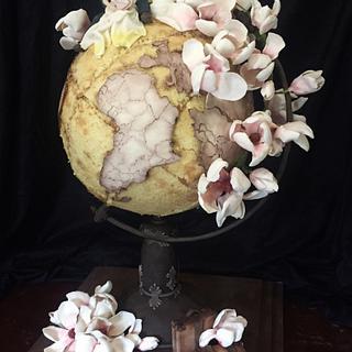Globe Wedding Cake
