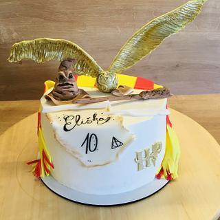 Harry Potter cake - Cake by VVDesserts