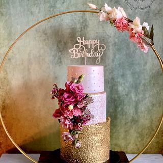 50th Birthday Cake - Cake by SugarfanciesbyPooja