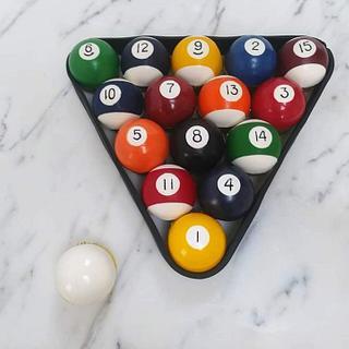 Billiard Ball Cupcakes!