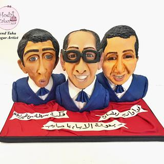Egyptian Cakers Ramadan Collaboration-Egyptian Comedian Trio