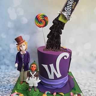 Willy Wonka - Cake by Rachel Roberts