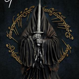 The Ringwraith, lord of the rings cake collab