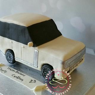 3D RangeRover - Cake by SpecialtycakesNL