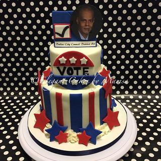 POLITICAL CAMPAIGN - Cake by ECM