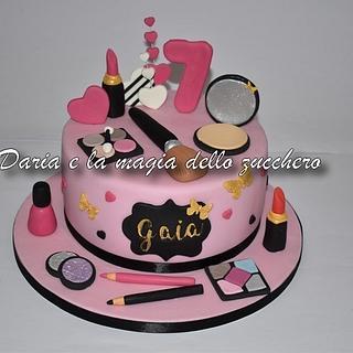 Make up cake - Cake by Daria Albanese