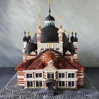 Sofia Sinagogue - Cake by Mariya's Cakes & Art