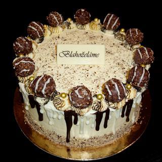Drip cake - Cake by OSLAVKA
