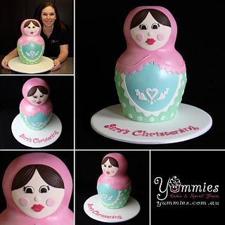 Babushka Doll - Cake by Jayne Baratta