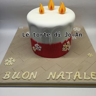 Candle cake - Torta candela