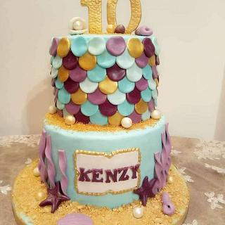 Sea world cake