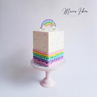 Rainbow - Cake by Maira Liboa