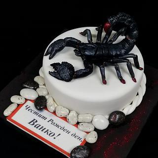 Cake Scorpio