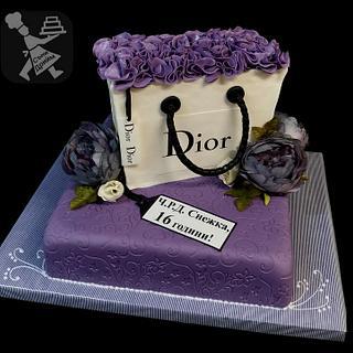Cake Dior bag - Cake by Sunny Dream