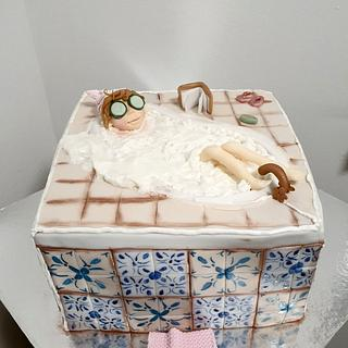 Bath cake:)