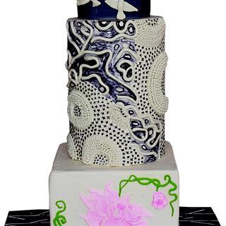 Caker Buddies Pottery Theme Collaboration - Set Free  - Cake by Monika Srivastava