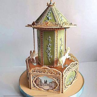 """Gingerbread carousel """"Prague""""  - Cake by Olga Nadyshneva"""