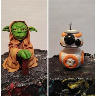 Yoda and SPHERO-BB8