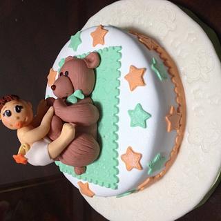 Baby Shower cake - Cake by Angela de Ramos