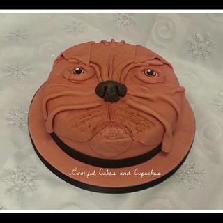 Dogue cake