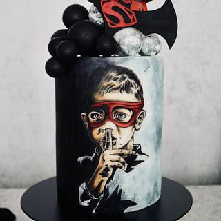 Little Superman - Cake by tomima