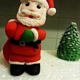 Santa topper.