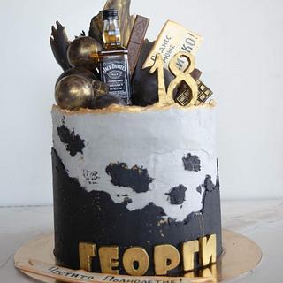Welcome to Adulthood cake