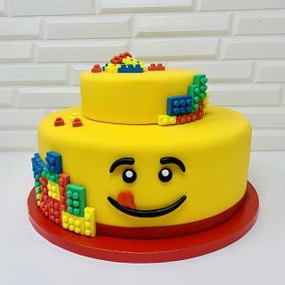 Lego cake - Cake by IlsognodiAnnette