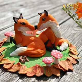 Sweet Autumn Collaboration - Cake by Taartmama