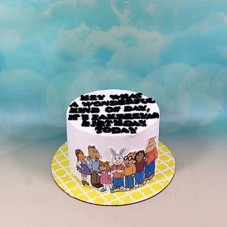 Arthur cake - Cake by soods