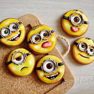 Minions - cookies