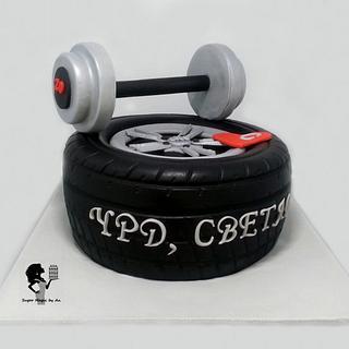 MICHELIN Pilot Super Sport - Cake by Antonia Lazarova