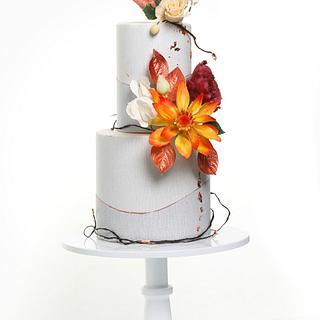 Fall  - Cake by Annasworldofsweets