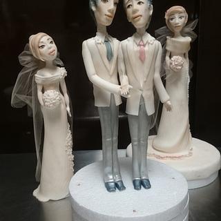 Love has no rules!!  - Cake by daniela cabrera