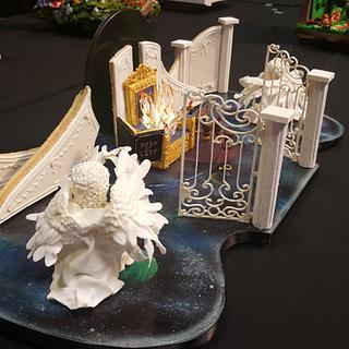 God's Throne Room  - Cake by Pamela Jane
