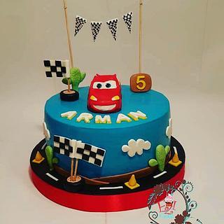 Super car cake