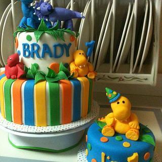 Lil Dino Cake