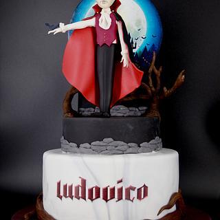 Vampire Cake  - Cake by Arianna