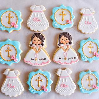 Baptism cookies - Cake by TortIva