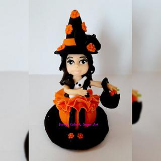 Halloween girl. - Cake by Umme Kulsum