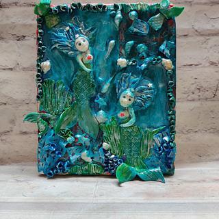 Playful Mermaids : Sugar Mad collab