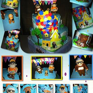 UP MOVIE CAKE&CUPCAKES