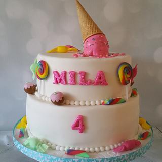 Candy Cake - Cake by SpecialtycakesNL