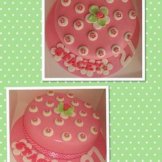Cath Kidston inspired vintage cake