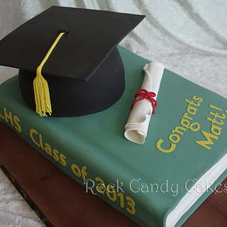 Graduation Hat & Book