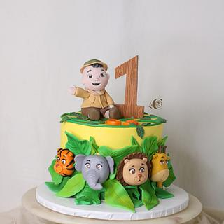 Safari cake - Cake by CandiRosa