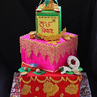 Indian culture cake competition