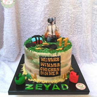 Pubg cake - Cake by emycakesdamnhor