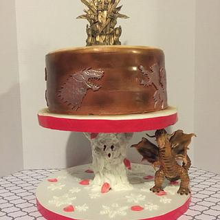 Game of Thrones Grooms Cake - Cake by Danielle Crawford